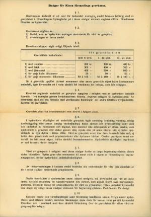Kvitto för övertagande av underhåll för Anders Torkelssons familjegrav. Baksida.