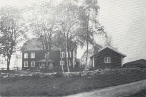 Ladugården Södra Åsarp år 1900. (Borås Museum arkiv)