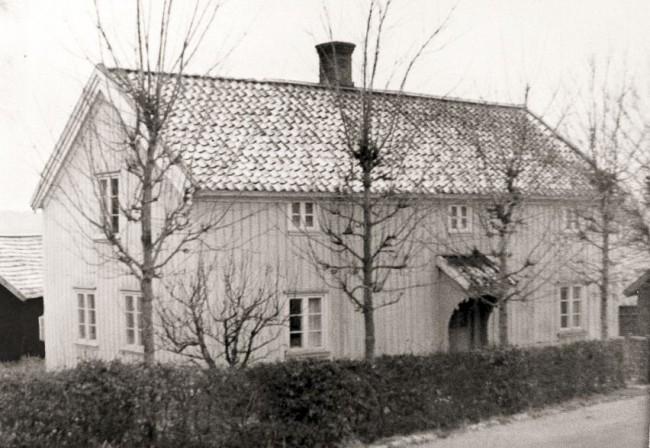 Klockaregården, foto troligen från 1940-talet.
