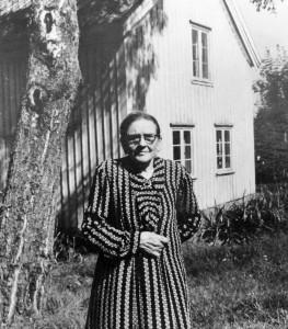 Anna Bengtsson. Foto: Kjell-Åke Brorsson, 23 augusti 1954.