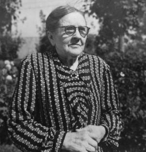 Anna Bengtsson, Klockaregården Horred. Foto: Kjell-Åke Brorsson 1954.