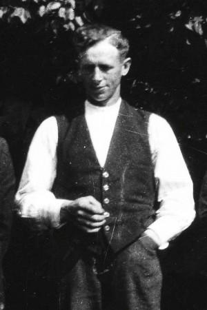 Jean Broberg. Foto troligen från slutet av 1930-talet.