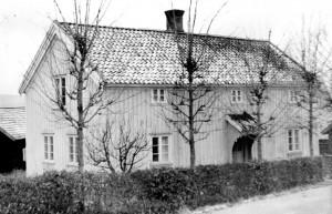 Klockaregården, Horred. Foto från omkring 1940.