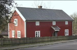 Klockaregården efter en grundlig renovering 1983-1984. Foto Kjell-Åke Brorsson 2006.