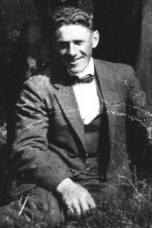 Thure Bengtsson. Foto troligen från slutet av 1930-talet.