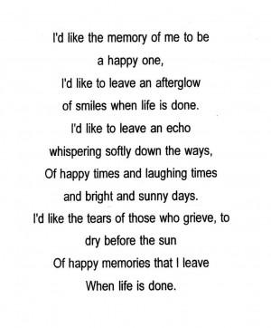 Fridolf Pearson minnesannons och dikt.