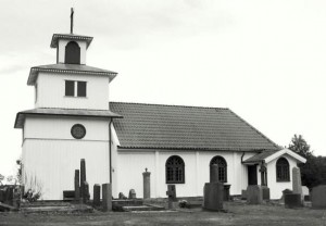Tostareds kyrka från 1500-talet. Foto Kjell-Åke Brorsson 2012.