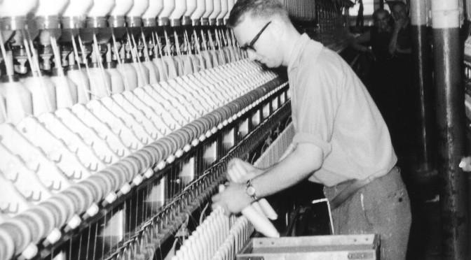 Att arbeta i textilindustrin på 1960-talet