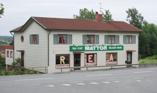 Carl Anderssons före detta affär 2006, nu som mattaffär. Foto Kjell-Åke Brorsson.