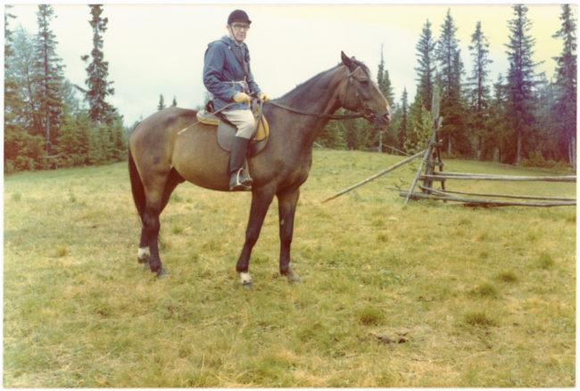 Berthel på Parim. 1975.