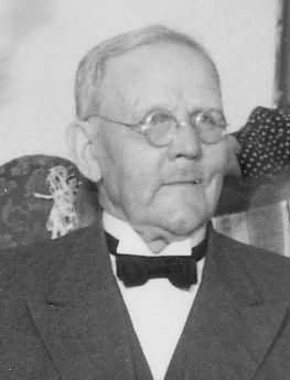 Edvard Johansson, återförsäljare i 31 år.
