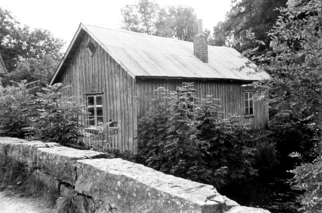 Snickeriverkstaden. Foto: Kjell-Åke Brorsson från 1970-talet.