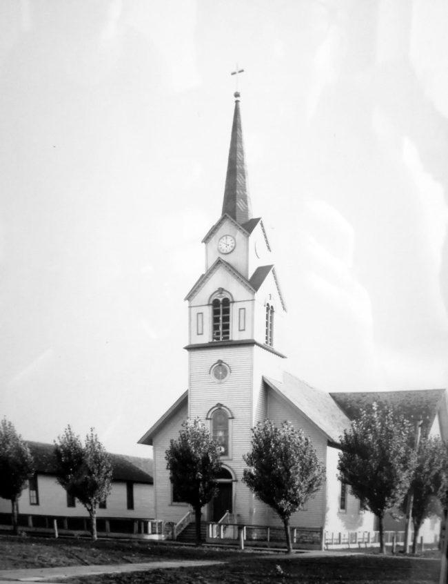 Gamla Zion Lutheran Church i Marinette.