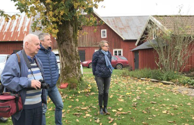 Ronny Johansson, Per Bergdahl och Hillevi Blomster. Foto: Kjell-Åke Brorsson okt 2017.