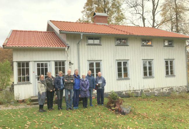 Ulrika Nilsson, Agneta Bengtsson, Hillevi Blomster, Fredrik Nilsson, Kenneth Rytterlund, Elisabeth Bergdahl, Per Bergdahl och Ronny Johansson. Foto: Kjell-Åke Brorsson okt. 2017.